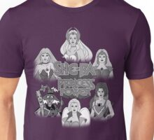 She-Ra Princess of Power - Girls of The Great Rebellion - Black & White Unisex T-Shirt