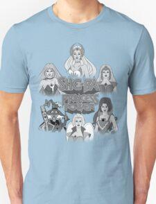 She-Ra Princess of Power - Girls of The Great Rebellion - Black & White T-Shirt