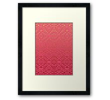 Damask Style Inspiration Framed Print