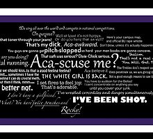 Pitch Perfect Quotes Poster by leishmania