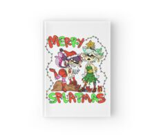 MERRY SPLATMAS! Text ver Hardcover Journal