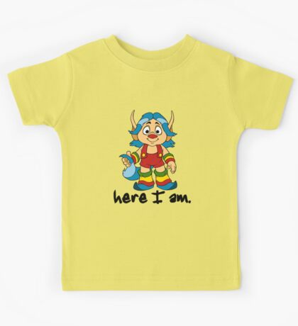 She-Ra Princess of Power - Loo Kee - Here I Am - Black Font Kids Tee