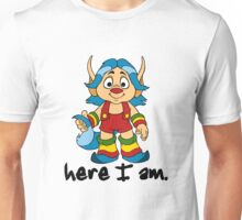 She-Ra Princess of Power - Loo Kee - Here I Am - Black Font Unisex T-Shirt
