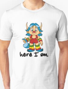She-Ra Princess of Power - Loo Kee - Here I Am - Black Font T-Shirt