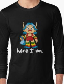 She-Ra Princess of Power - Loo Kee - Here I Am - White Font Long Sleeve T-Shirt