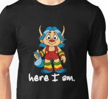 She-Ra Princess of Power - Loo Kee - Here I Am - White Font Unisex T-Shirt