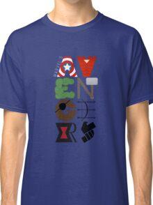 Avengers Typography Classic T-Shirt