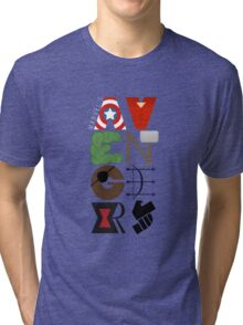 Avengers Typography Tri-blend T-Shirt