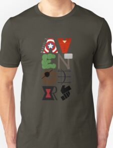 Avengers Typography T-Shirt