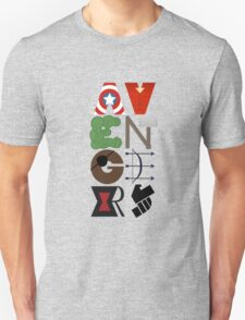 Avengers Typography Unisex T-Shirt