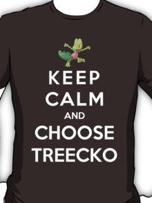 Keep Calm And Choose Treecko T-Shirt
