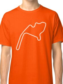 Mid-Ohio Sports Car Course [outline] Classic T-Shirt