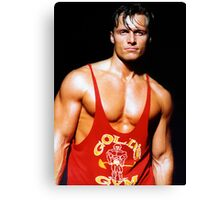 Handsome muscular man Canvas Print