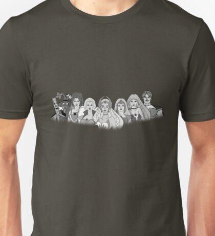 She-Ra Princess of Power - The Great Rebellion #2 - Black & White Unisex T-Shirt