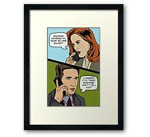 Xchange Framed Print