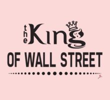 The King Of Wall Street [Black] Kids Clothes