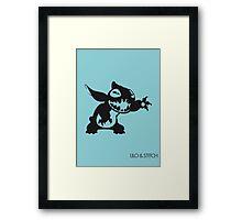 Stitch Framed Print