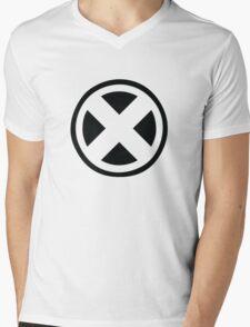 X- People Mens V-Neck T-Shirt