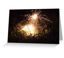 Sparks are flying Greeting Card