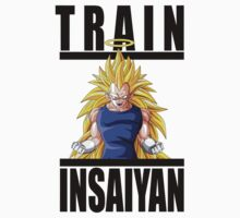 Train Insaiyan - Vegeta SSJ3 by irig0ld