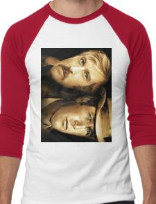 Robert Redford, Paul Newman  Men's Baseball ¾ T-Shirt