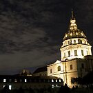Les Invalides - Eglise Du Dome At Night - 2 © by © Hany G. Jadaa © Prince John Photography