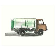 Soviet Truck  Art Print