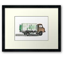 Soviet Truck  Framed Print