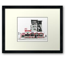 Soviet Apartment in Kazakhstan  Framed Print