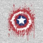 A Splash of Captain America by tdx00