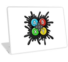 ABXY Video Game Party Band Logo Laptop Skin