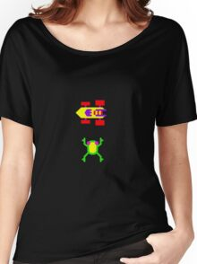 Arcade Love - Frogger Women's Relaxed Fit T-Shirt