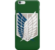 Attack On Titan: Survey Corps logo  iPhone Case/Skin