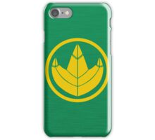 Green Ranger Go iPhone Case/Skin