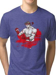 Muay Thai : Born to Fight Tri-blend T-Shirt