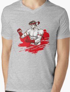 Muay Thai : Born to Fight Mens V-Neck T-Shirt