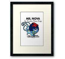 Mr Nova Framed Print