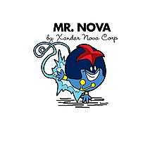 Mr Nova Photographic Print