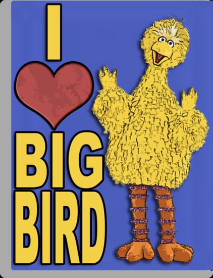 I Love Big Bird by boobs4victory