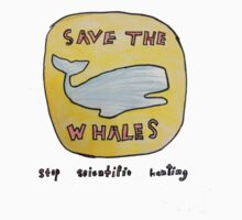 Klyde - Save the Whales T by class3F