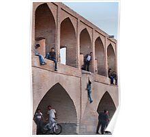 Bridge Playground, Esfahan, Iran Poster