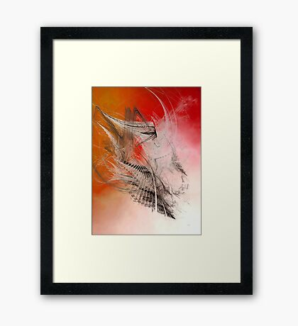 Mercury In Aries - Cardinal Fire Framed Print
