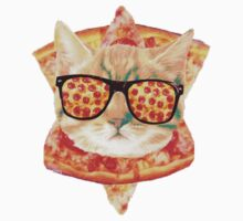 Kitty Pizza T-Shirt