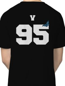 BTS- V 95 Line Butterfly Jersey Classic T-Shirt