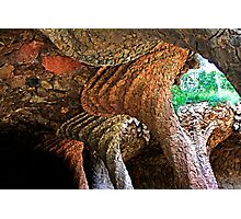 """Park Güell"" by Gaudi Photographic Print"