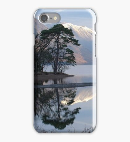 Reflections in Wastwater on a Frosty Morning iPhone Case/Skin