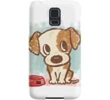 Sitting puppy Samsung Galaxy Case/Skin