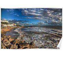 Ventnor Beach IOW Poster