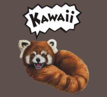 Cute Kawaii Red Panda One Piece - Short Sleeve