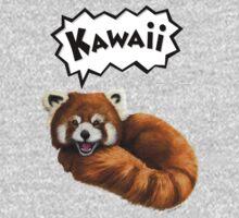 Cute Kawaii Red Panda One Piece - Long Sleeve